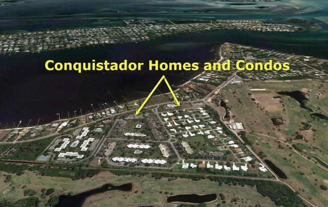Conquistador Homes and Condos in Stuart, Florida