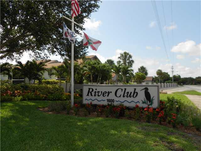 River Club condos entrance