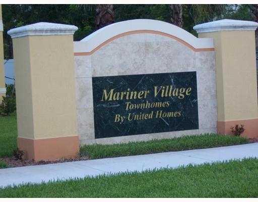 Entrance to Mariner Village Gardens
