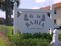de la Bahia entrance