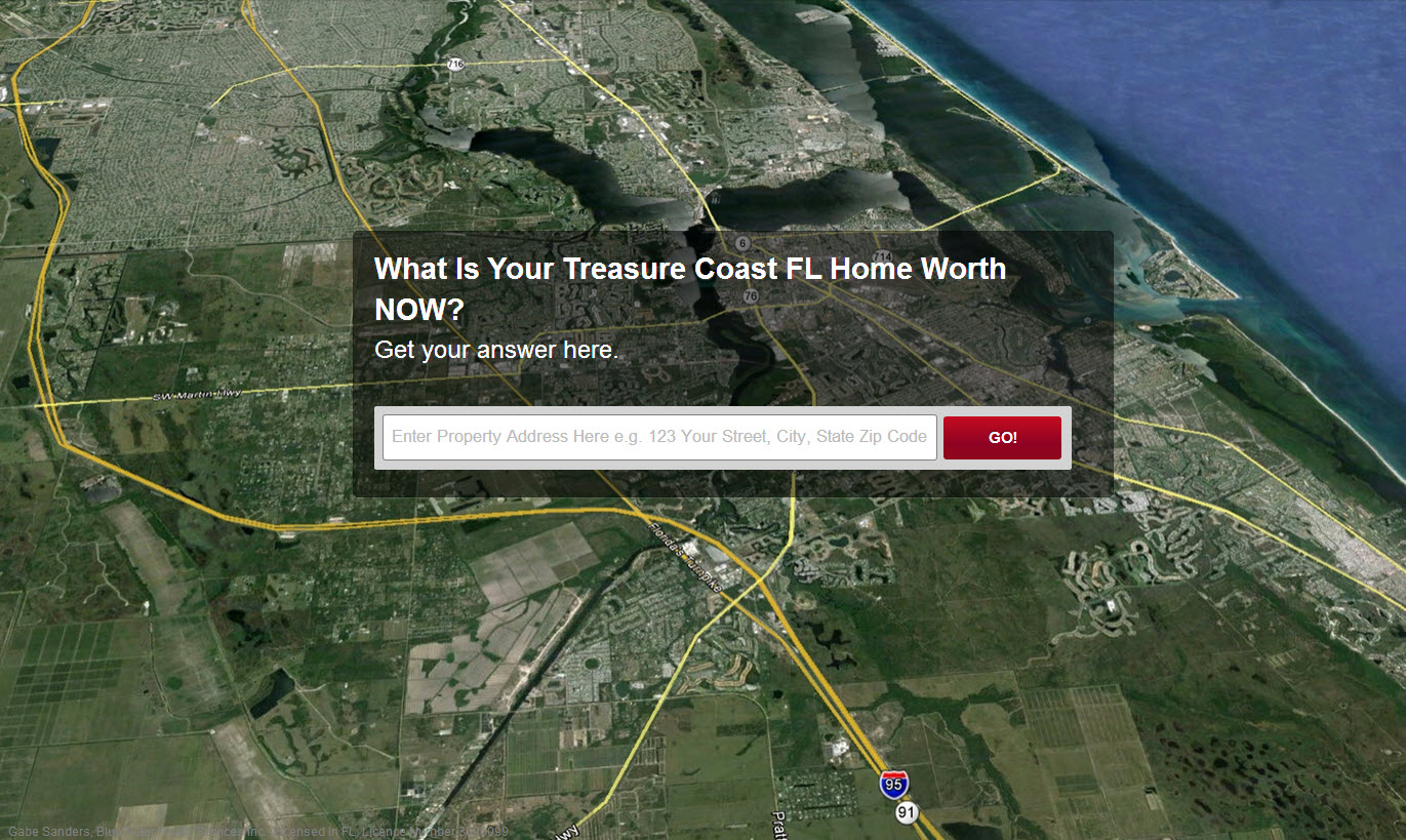 Treasure Coast Home Value request