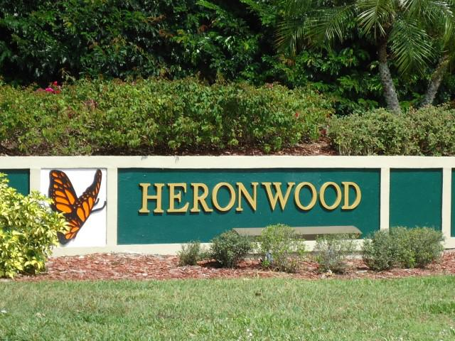 Heronwood Real Estate - sign