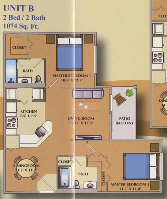 Portofino at Jensen Beach  2 Bedroom
