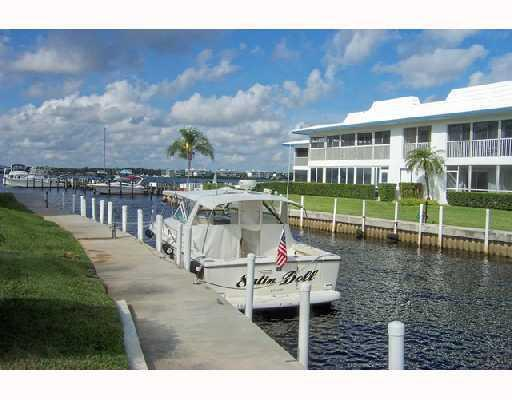 Canal of Windjammer Condos in Stuart, Florida