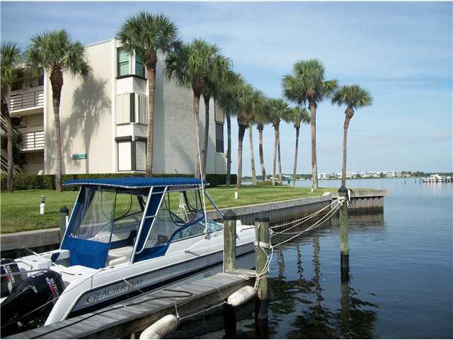 Views of Circle Bay Waterfront Condos in Stuart Florida