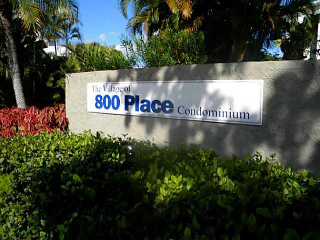 800 Place entrance