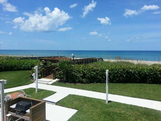Beachwood Villas on Hutchinson Island grounds