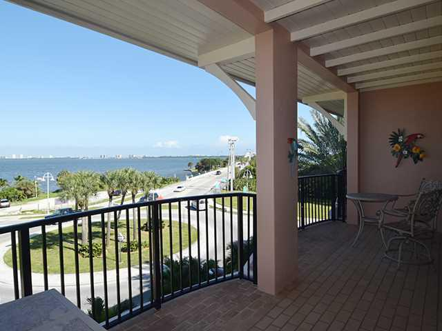 A Balcony in the Renar River Place in Downtown Jensen Beach