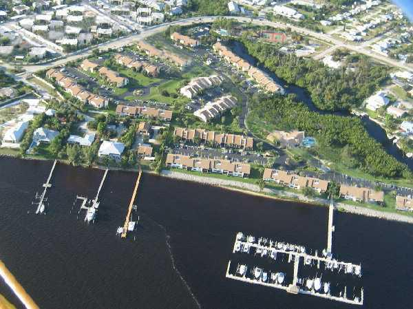 River Club condos aerial