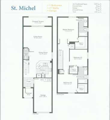 Floor plan for Mariner Village Gardens