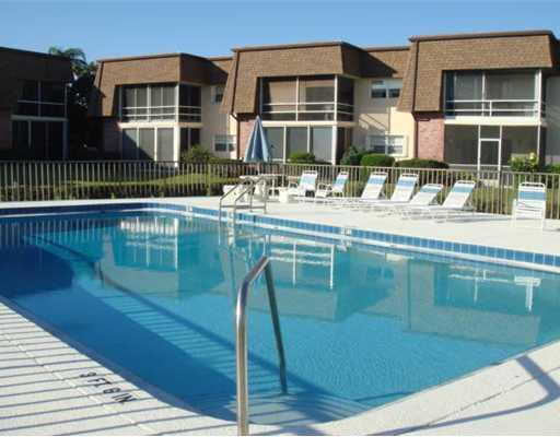 Community Pool for the Port Manatee condos in Rocky Point
