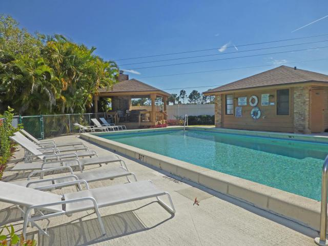 Community Pool for the Crestwood Townhomes in Stuart FL