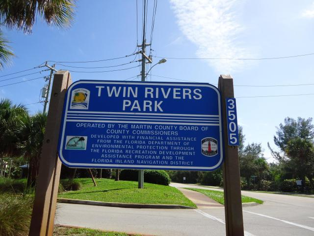 Twin Rivers Park near the Seascape Condos