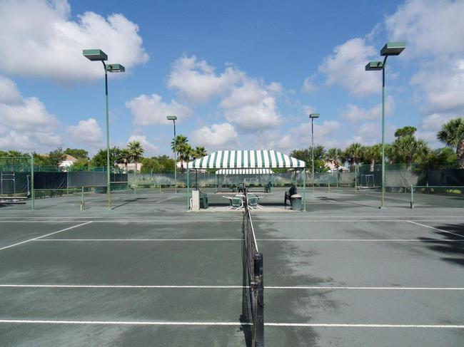 Tennis Courts in Summerfield in Stuart Florida