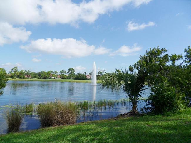 Lake in Summerfield in Stuart Florida