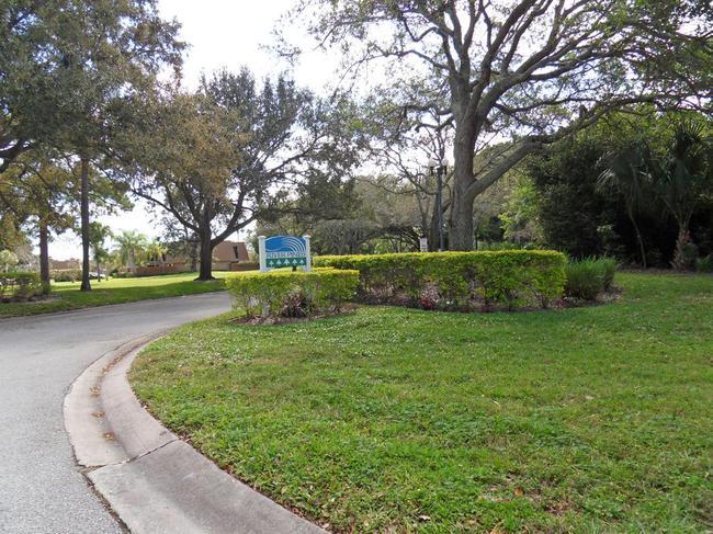 River Pines in Stuart FL  Entrance